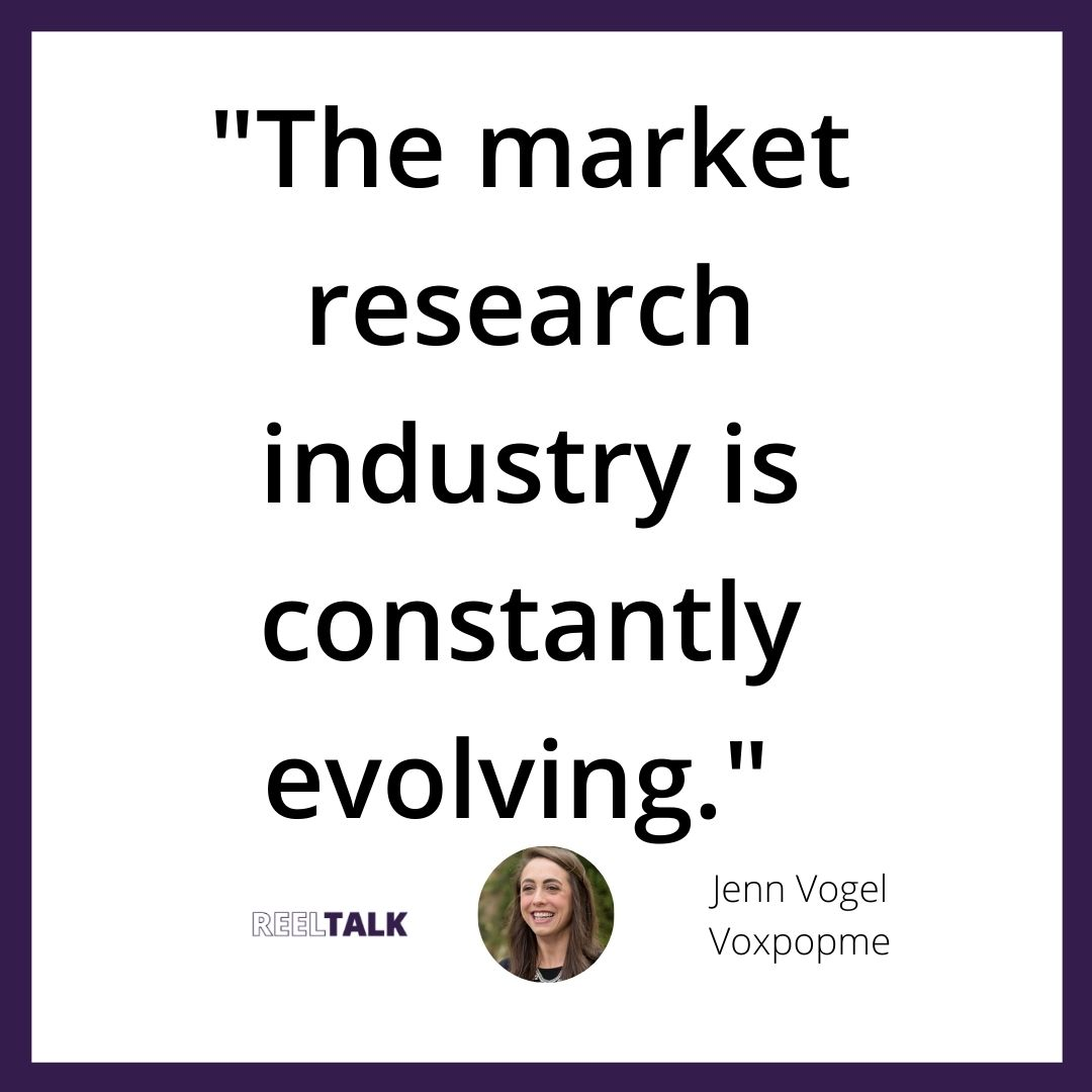 The market research industry is constantly evolving.