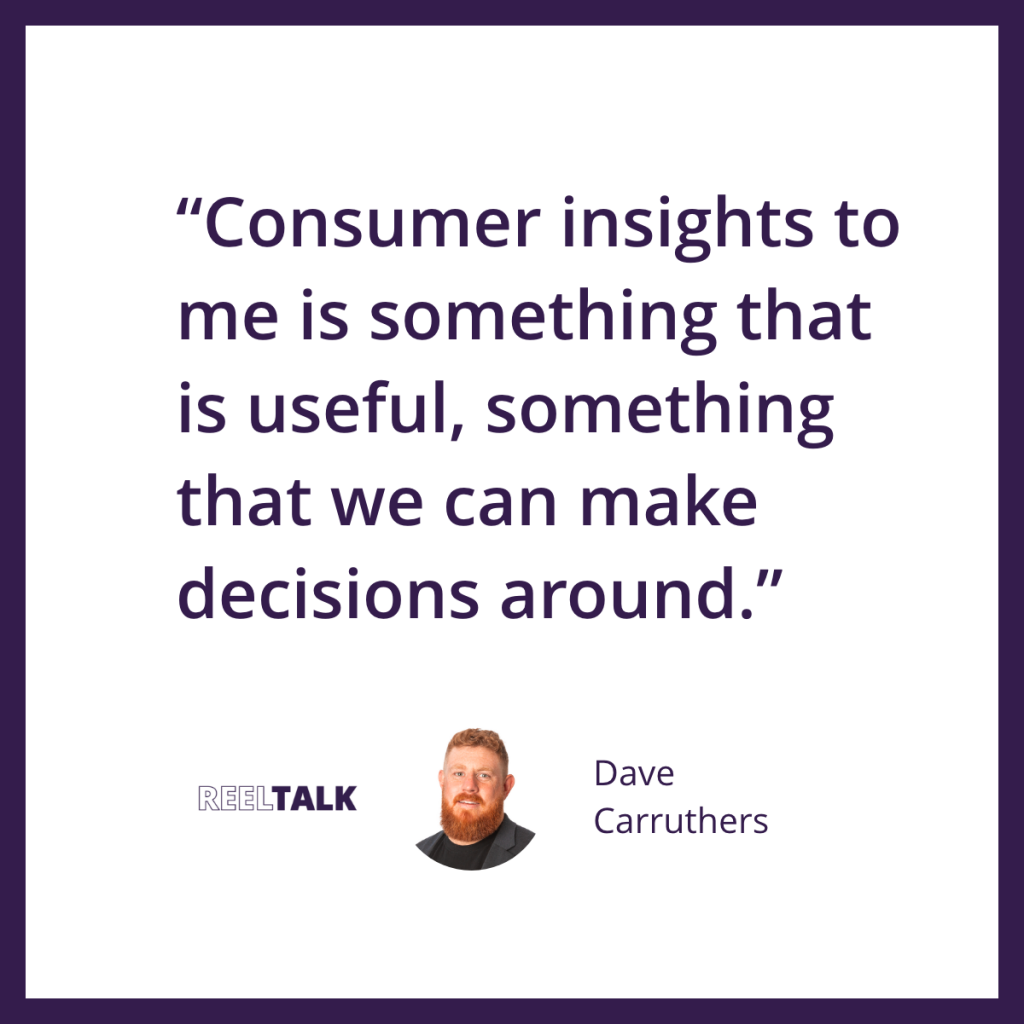 Consumer insights must be useful